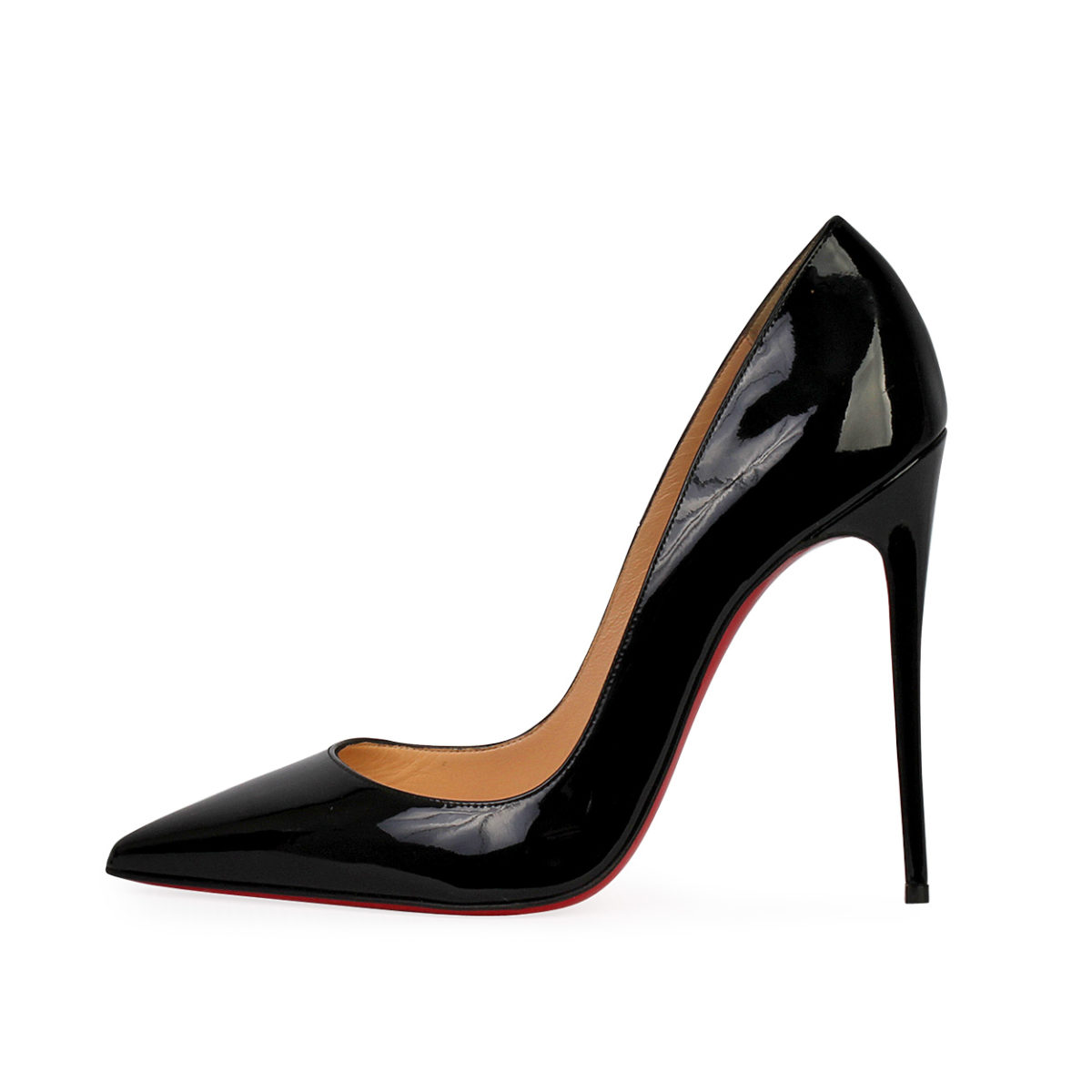 online retailer 48ede e68b4 CHRISTIAN LOUBOUTIN Patent Leather So Kate 120 Pumps Black - S: 39 (6)
