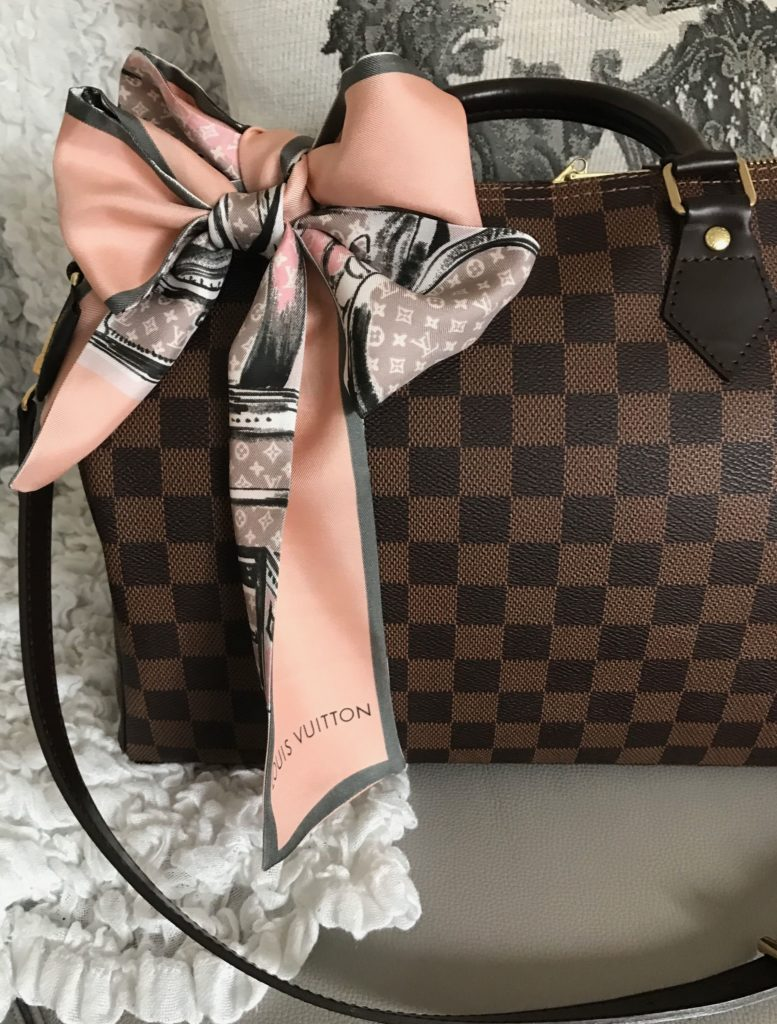 Louis Vuitton Speedy Bag Damier Ebene West Africa