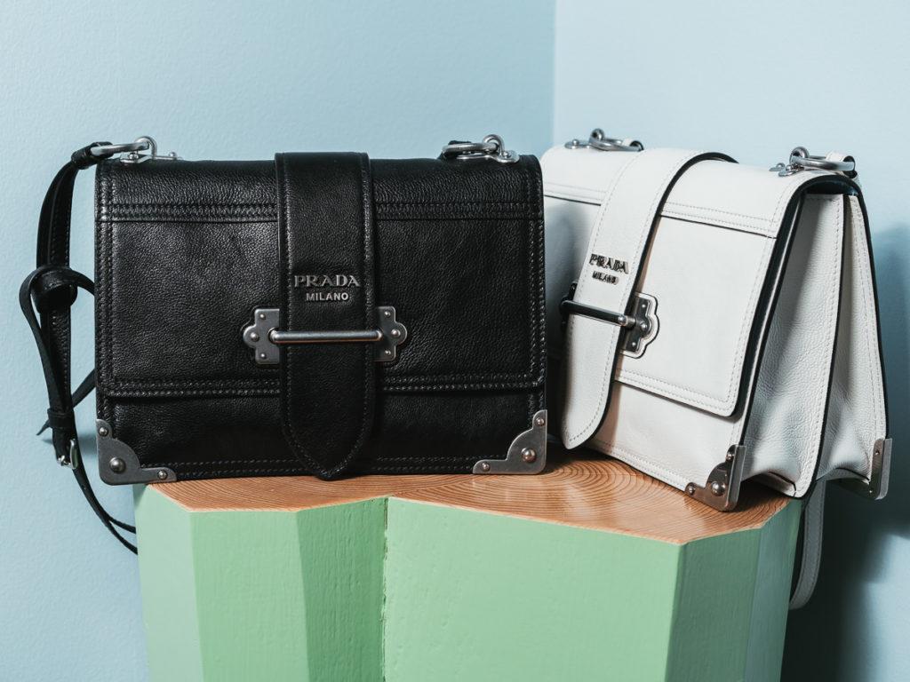 Prada Cahier Bag Black White Nairobi Kenya