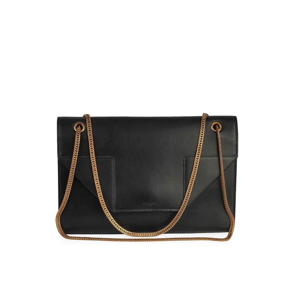 garantie de haute qualité meilleure valeur nouveau concept YVES SAINT LAURENT Leather Sac Betty Shoulder Bag Black