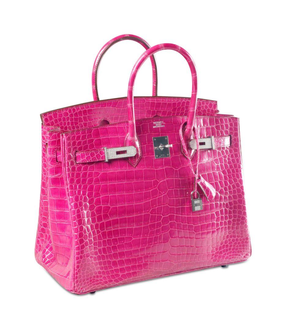 Fuchsia Diamond-studded Hermès Birkin