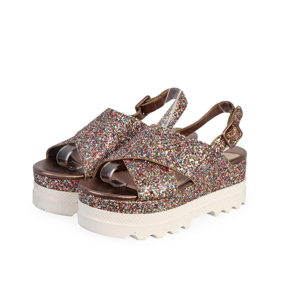 Glitter Miu Miu Sandals