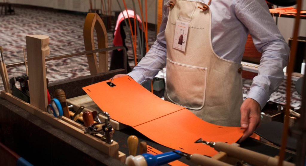 The making of an Hermes Birkin