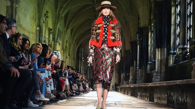 Gucci Showcase at Westminster Abbey