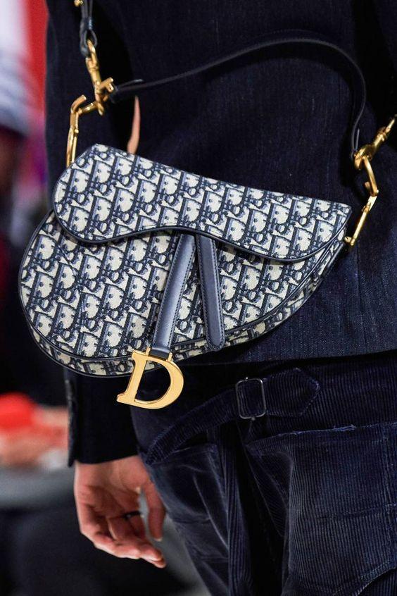 Dior Saddle Bag Monogram