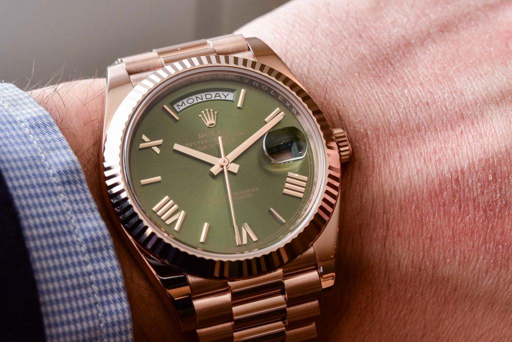 Rolex Watch Roman Numerals