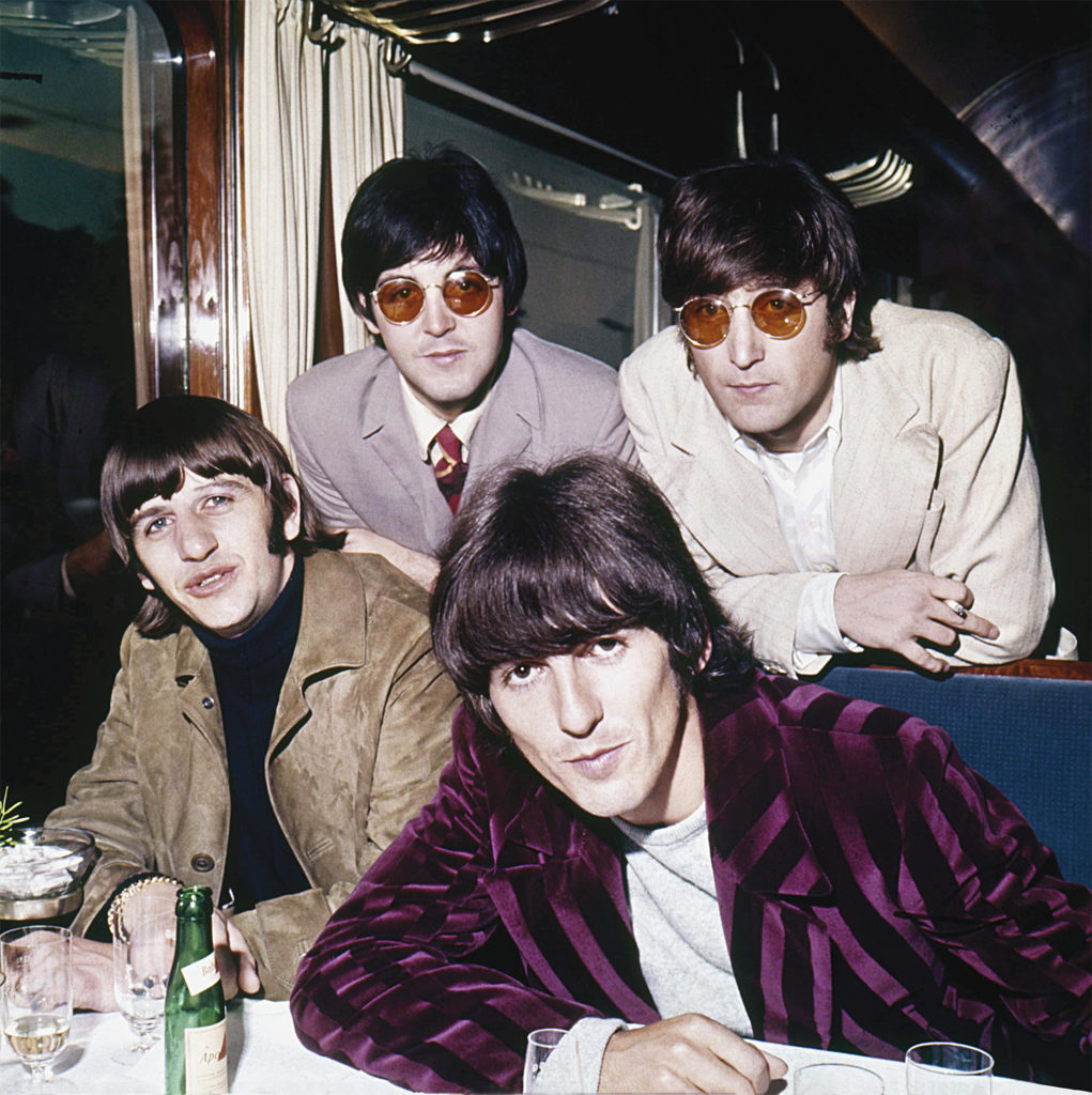 Beatles with Round Sunglasses