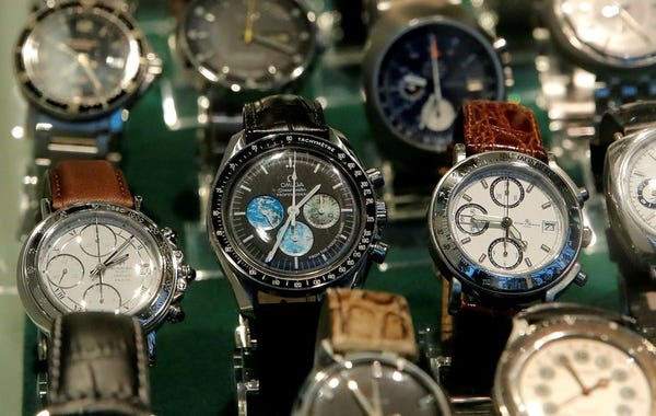 Second-hand luxury watches in South Africa