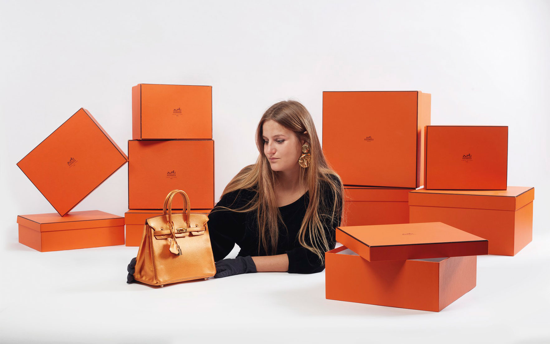 Hermes Birkin And Box