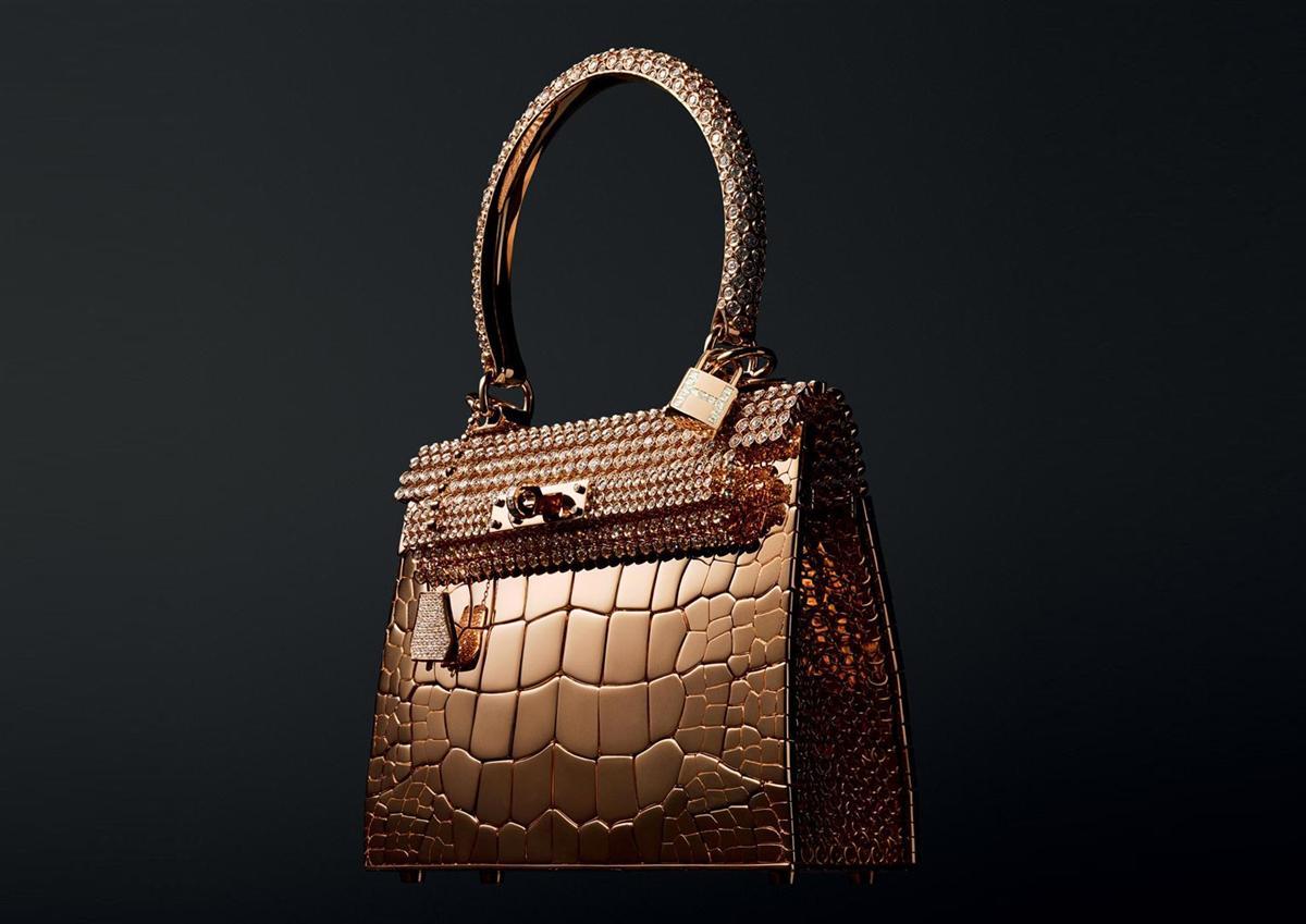 Hermes Rose Gold Kelly