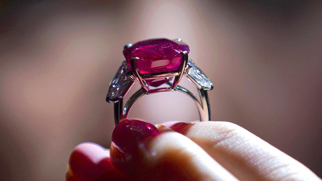 Cartier Burmese Ruby
