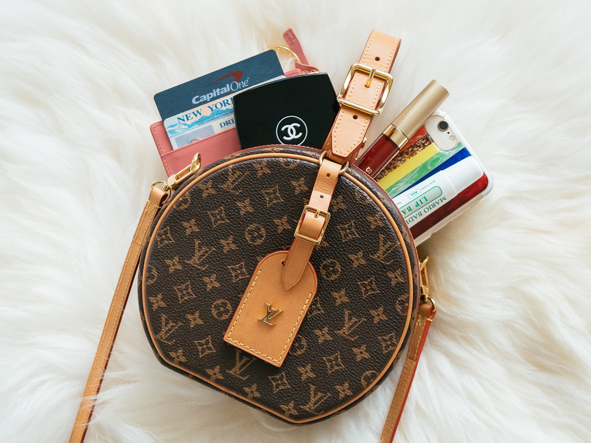 Round Louis Vuitton Bag