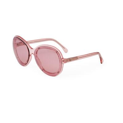 Pink Chanel Sunglasses
