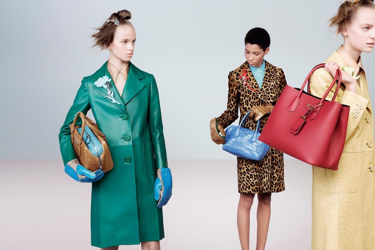 Colourful Prada Bags